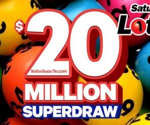 """Xổ Số Australia Saturday Lotto của Úc đang có đợt """"Siêu Xổ Số"""" với giải thưởng 350 tỷ VNĐ"""