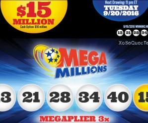 Đã Có Người Thắng Xổ Số Mega Millions Với Giải Jackpot 2900 Tỷ VNĐ