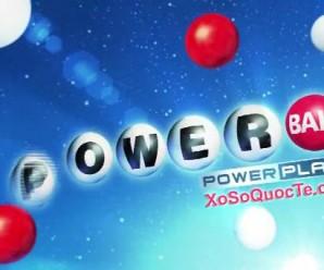 Xổ Số Powerball Lên Mốc $136 triệu Dollar Tương Đương Hơn 3000 tỷ VNĐ