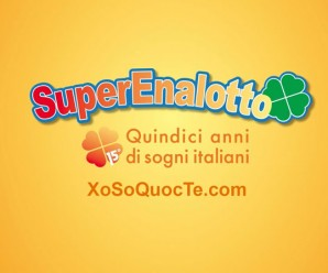 Xổ Số Italy SuperEnalotto Chính Thức Vượt Ngưỡng €151 Triệu Euro