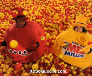 Xổ Số Mega Millions Lên Mốc 2900 Tỷ VNĐ, Xổ Số Powerball Lên Mốc 3200 tỷ VNĐ