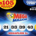 Kết Quả Xổ Số Tự Chọn Mega Millions ngày quay thưởng 30-12-2016
