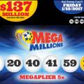 Kết Quả Xổ Số Tự Chọn Mega Millions ngày quay thưởng 11/1/2017