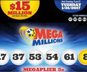 Kết Quả Xổ Số Mega Millions Mùng Một Tết: Giải Thưởng 4200 tỷ VNĐ Đã Có Chủ !
