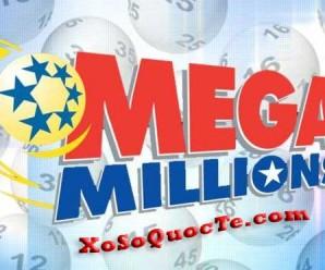 Ngày 29/7/2017: Ai Sẽ Trở Thành Chủ Nhân Giải Xổ Số Mega Millions Trị Giá 6400 tỷ VNĐ