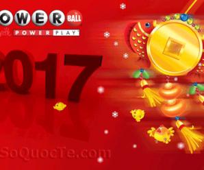 Kết Quả Xổ Số Powerball ngày 5/2/2017: Có 2 Người Trở Thành Triệu Phú