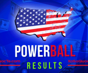 Kết Quả Xổ Số Tự Chọn Powerball ngày quay thưởng 30/7/2017