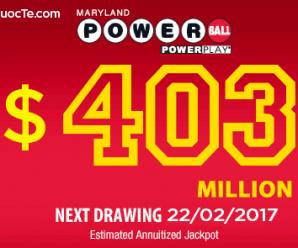 Xổ Số Powerball của Mỹ lên mốc 9100 tỷ VNĐ: Sức Hấp Dẫn Lan Khắp Hành Tinh