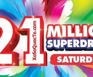 Siêu Xổ Số Australia Saturday Lotto của Úc Quay Trở Lại !