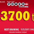 Xổ Số Powerball Tăng Mạnh Lên Mốc Hơn 3700 tỷ VNĐ: Ai Sẽ Gặp May ?