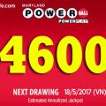 Xổ Số Powerball Lên Mốc $204 triệu USD tương đương hơn 4600 tỷ VNĐ