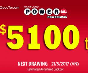 Xổ Số Powerball Chinh Phục Đỉnh Cao 5100 tỷ VNĐ: Thử Vận May Của Bạn