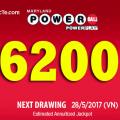 Xổ Số Powerball Vượt Lên Mốc 6200 Tỷ VNĐ: Kiểm Tra Vận May Của Bạn !