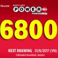 Xổ Số Powerball Gây Bão Khi Lên Mốc 6800 tỷ VNĐ: Ai May Mắn Hơn ?