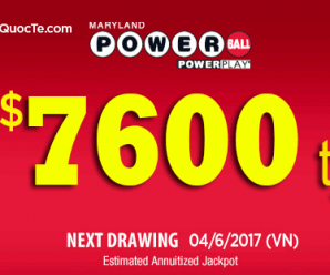 Xổ Số Powerball Vọt Lên Mốc Cao 7600 Tỷ VNĐ: Lan Toả Ước Mơ Triệu Đô