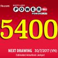 Ngày 30/7/2017: Quay Thưởng Xổ Số Powerball Trị Giá $239 triệu USD Tương Đương Hơn 5400 tỷ VNĐ