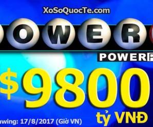 Xổ Số Powerball Tăng Vọt Lên Mốc 9800 tỷ VNĐ: Thử Vận May Của Bạn