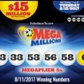 Ngày 12/8/2017: Một Người Trúng Xổ Số Mega Millions Hơn 8900 Tỷ VNĐ