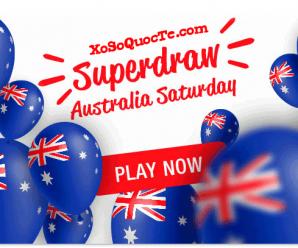 Tối 2/9/2017: Quay thưởng Siêu Xổ Số Úc Australia Saturday Lotto $20 Triệu AUD