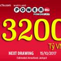 Xổ Số Powerball Lên Mốc $143 Triệu USD Tương Đương Hơn 3200 tỷ VNĐ