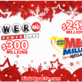 Xổ Số PowerBall & Mega Millions Hâm Nóng Không Khí Giáng Sinh Khi Tiếp Cận Mốc 7,000 Tỷ VNĐ