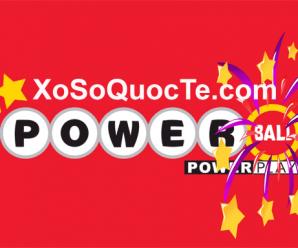 Kết Quả Xổ Số PowerBall ngày 31/12/2017: Có 4 Người Trở Thành Triệu Phú