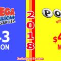 Xổ Số PowerBall & Mega Millions Chào Mừng Năm Mới 2018 Bằng Giải Thưởng Jackpot Vượt Mốc 10,000 Tỷ VNĐ
