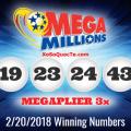 Kết Quả Xổ Số Tự Chọn Mega Millions Ngày Quay Thưởng 21/2/2018