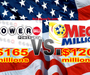 Giải Thưởng PowerBall Chinh Phục Mốc $165 Triệu Đô-La Trong Khi Mega Millions Tăng Mạnh Lên Mức $120 Triệu Đô-La