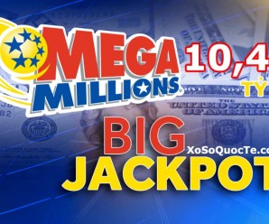 Jackpot Mega Millions Leo Lên Mức $458 Triệu Đô-La Chính Thức Trở Thành Giải Thưởng Lớn Thứ 4 Trong Lịch Sử Của Giải