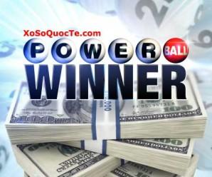 Người Vừa Trúng Giải jackpot PowerBall Trị Giá $55,9 Triệu USD Khi Mua Vé Tại Bang Louisiana