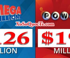 PowerBall & Mega Millions Cùng Nhau Tăng Mạnh Khi lần Lượt Chạm Mức $195 Triệu USD Và $126 Triệu USD