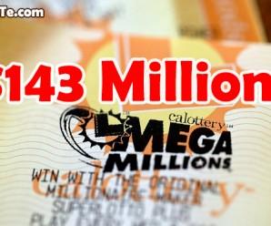 Giải Thưởng Jackpot Mega Millions Trị Giá $143 Triệu USD Đã Có Chủ