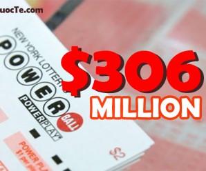 Jackpot Vẫn Chưa Chịu Nổ, PowerBall Tiếp Tục Tăng Mạnh Lên Mức $306 Triệu USD