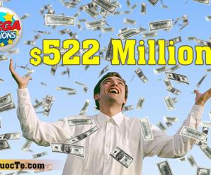 Giải Jackpot Mega Millions Trị Giá $522 Triệu USD Đã Tìm Được Chủ