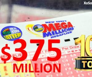 Cán Mốc $375 Triệu USD Jackpot Mega Millions Lọt Top 10 Giải Thưởng Cao Nhất Trong Lịch Sử