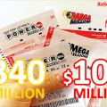 PowerBall Chạm Mốc $100 Triệu USD, Mega Millions Tăng Mạnh Lên Mức $340 Triệu USD