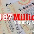 Tiến Đến Mức $187 Triệu USD, PowerBall Vô Đối Về Giá Trị Giải Thưởng