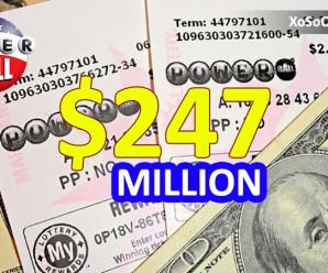 Giải Jackpot PowerBall Trị Giá $247 Triệu USD Đã Có Chủ
