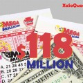 Không Có Đối Thủ, Jackpot Mega Millions Chạm Mức $118 Triệu Đô-La