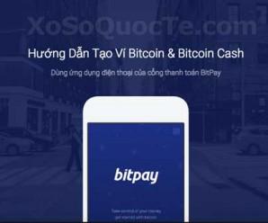 Hướng dẫn tạo ví Bitcoin và Bitcoin Cash dùng cổng thanh toán BitPay