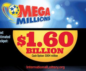 Xổ Số Mega Millions Đạt Kỷ Lục 1.6 Tỷ Đô-La: Thử Vận May Của Bạn