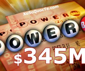 Vẫn Chưa Chịu Nổ, Jackpot PowerBall Cán Mốc 8000 Tỷ VNĐ