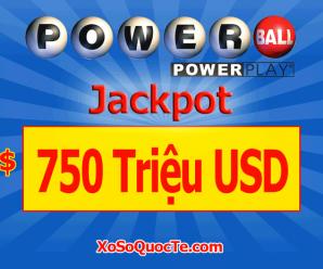 Sau Mega Millions, Đến Lượt Xổ Số Powerball Tăng Sốc Lên $750 Triệu USD