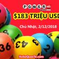 Nối gót Mega Millions, Powerball tăng mạnh lên mốc $183 triệu USD
