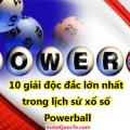 Danh sách 10 giải độc đắc lớn nhất trong lịch sử xổ số Powerball