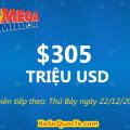 Giá Trị Giải Thưởng Xổ Số Mega Millions Tiếp Tục Nhảy Vọt lên $305 Triệu Đô-La
