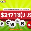 Chưa xuất hiện người may mắn nhất, Xổ số Powerball tăng mạnh lên mốc $217 triệu USD