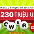 Không chịu thua Mega Millions, Xổ số Powerball chạm ngưỡng $230 triệu USD