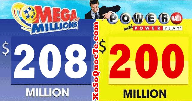 powerball và mega millions